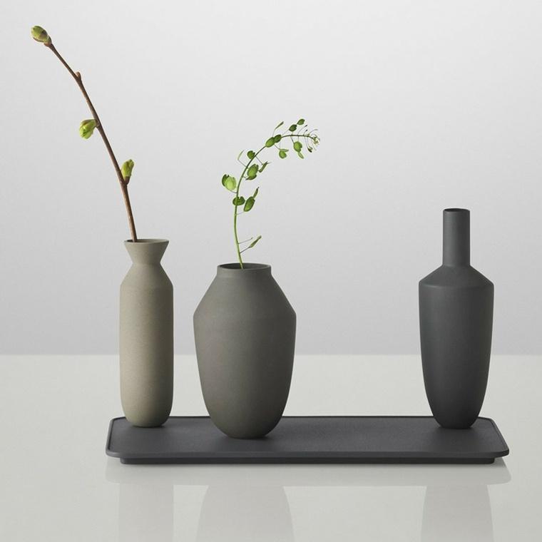 Jarrones decorativos originales y modernos for Objetos modernos para decorar el hogar