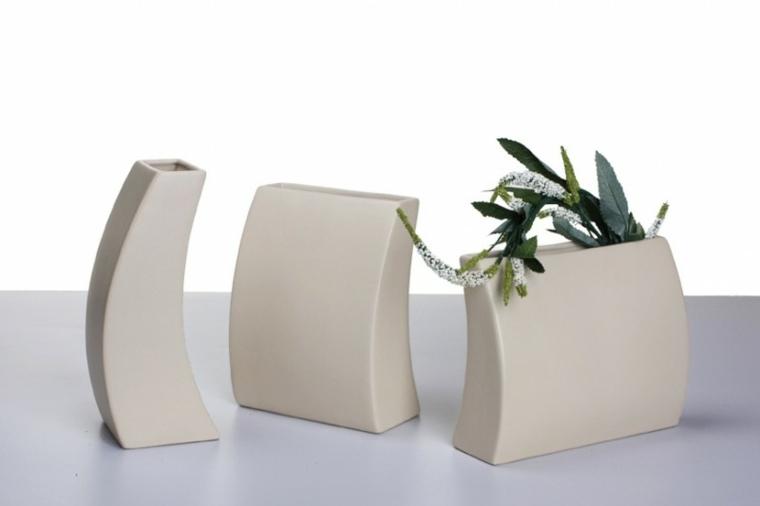 Jarrones decorativos originales y modernos - Jarrones decorativos para jardin ...