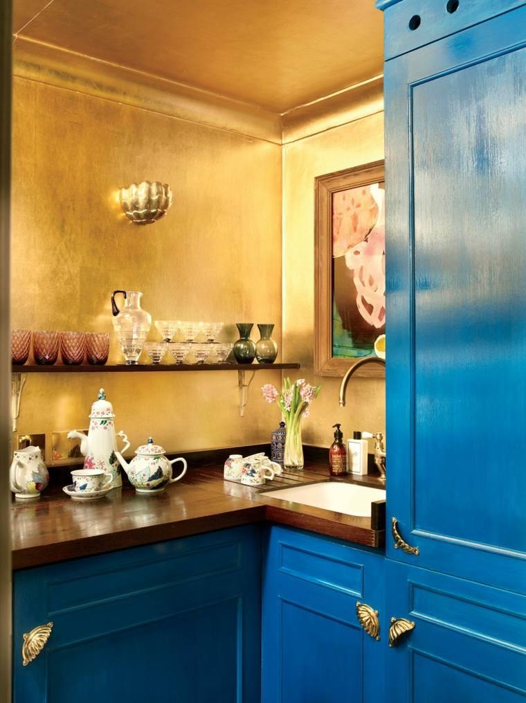 lavabo esquina cocina pequena opciones ideas