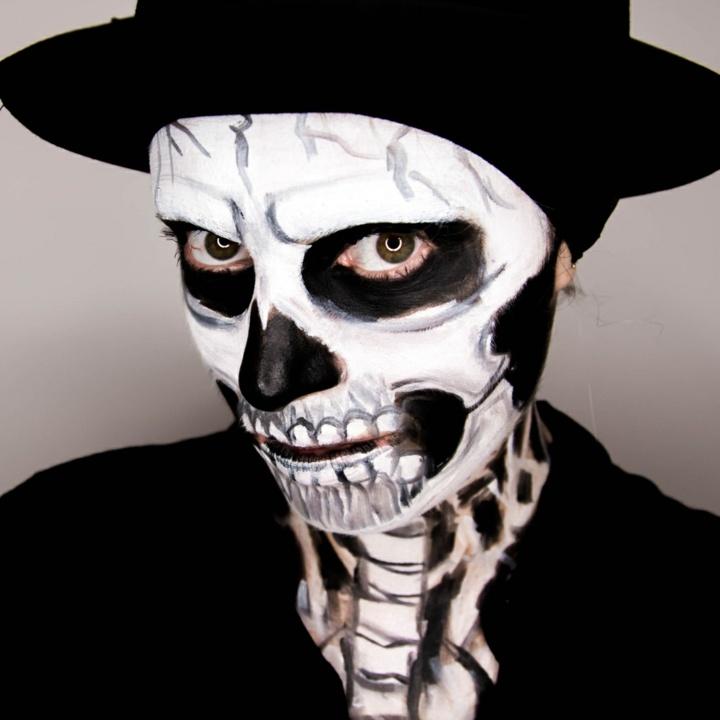 los esqueletos sombrero complementado ideas