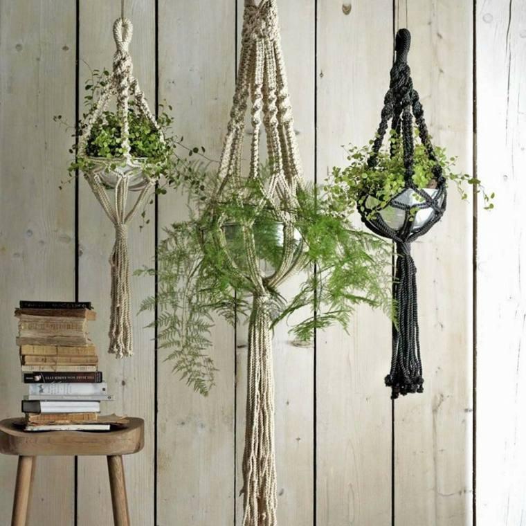 Plantas colgantes ideas para el interior - Maceteros colgantes para balcones ...