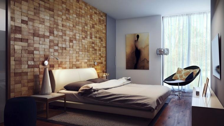 madera en las paredes