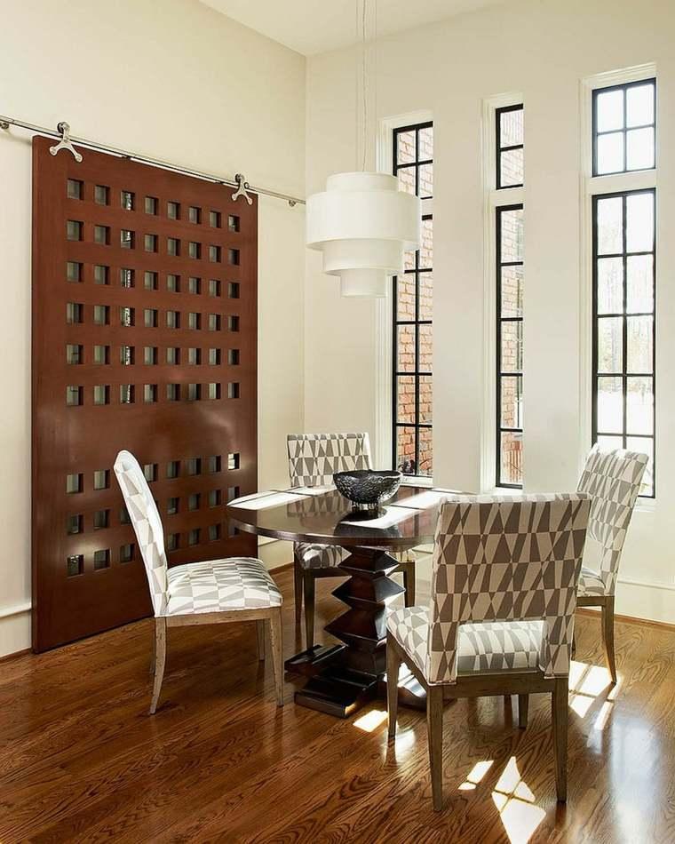 madera salones sillas cuadros fuentes ventanales
