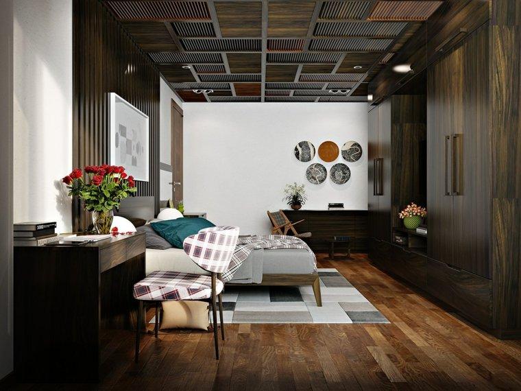 madera techos mueble suelos estrecho