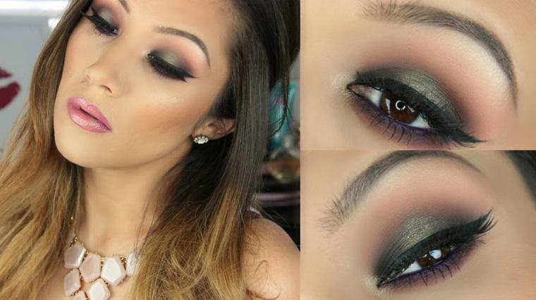 maneras de maquillarse los ojos