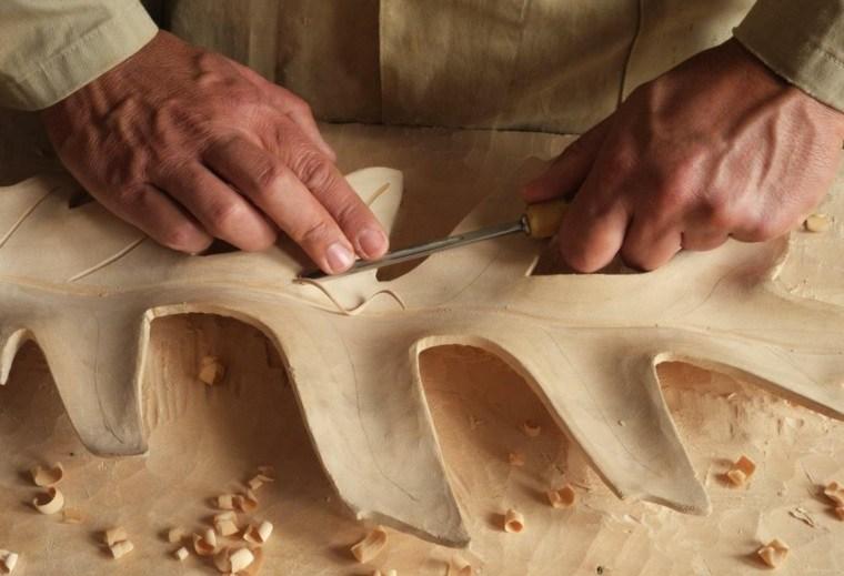 manualidades de madera difíciles