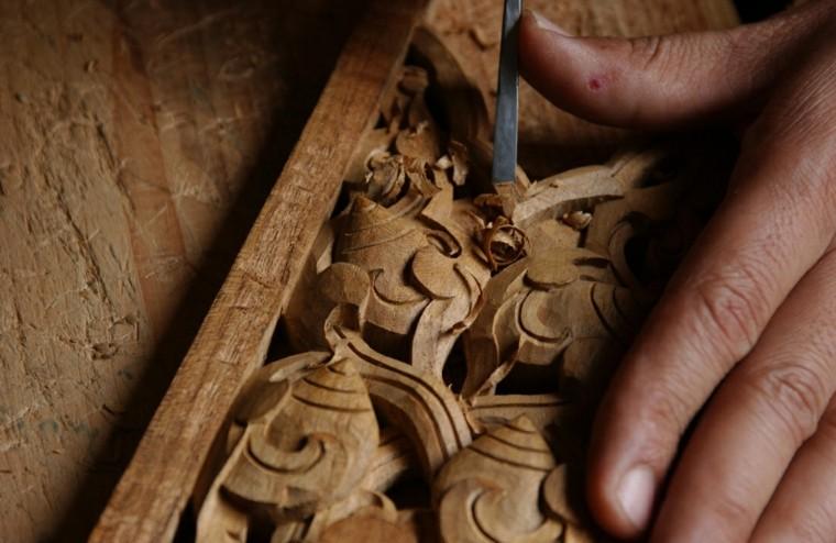 manualidades de madera moderna