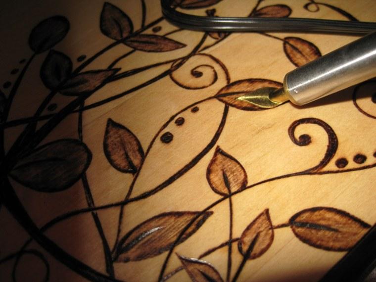 manualidades de madera originales casa