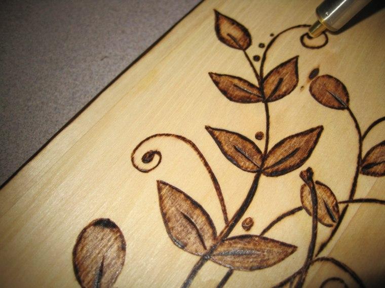 manualidades de madera originales principiantes