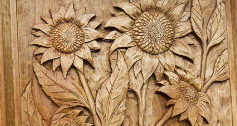 manualidades de madera pared casa