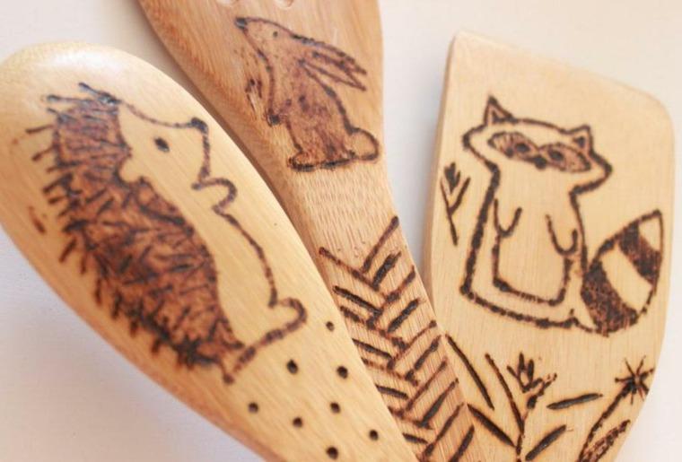 manualidades de madera pared
