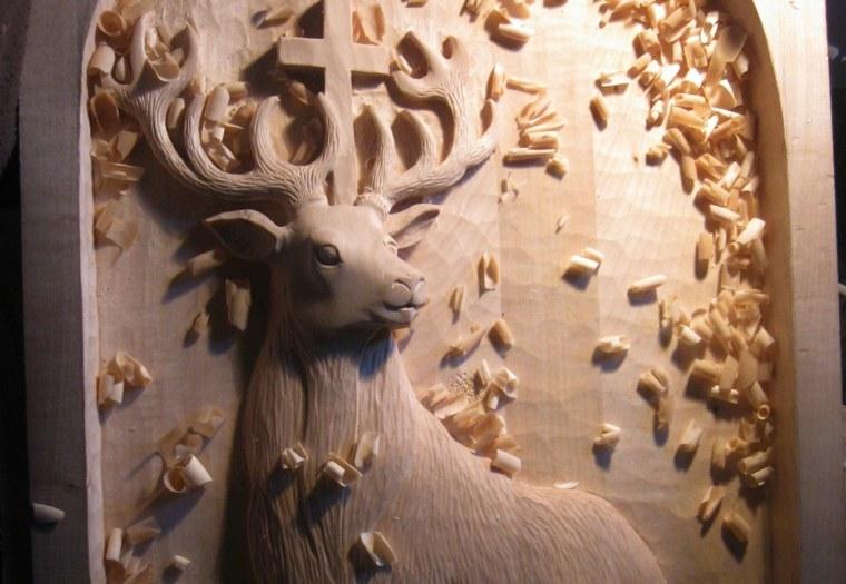 manualidades en madera casa