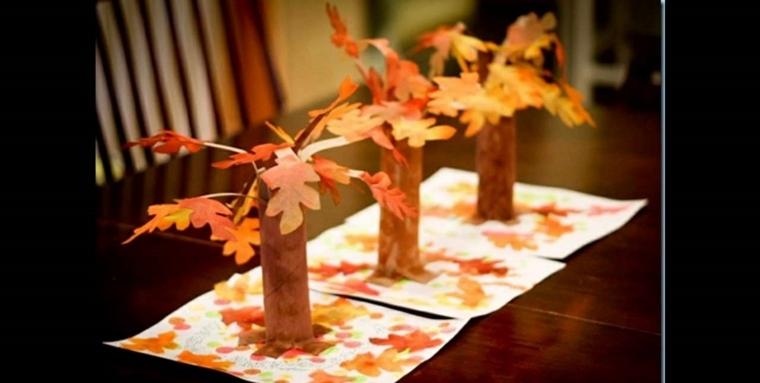 manualidades infantiles de otoño