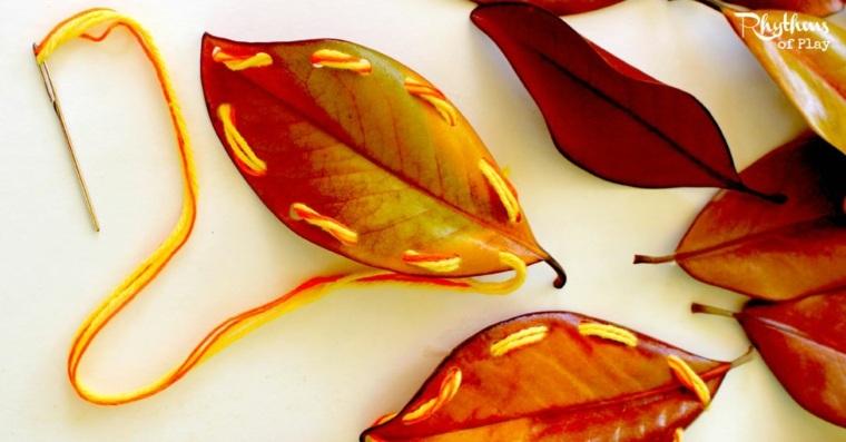 manualidades otoño decoración interior