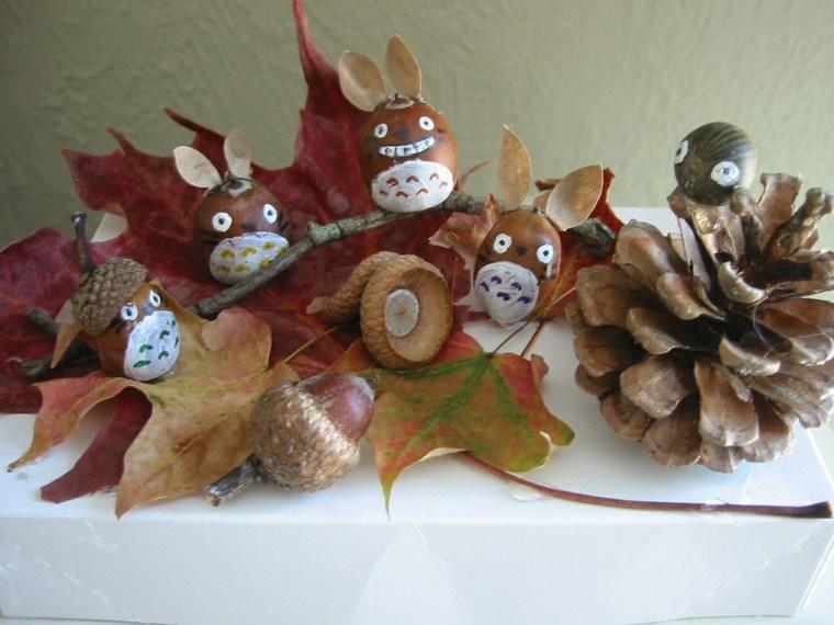manualidades otoño fáciles decorar
