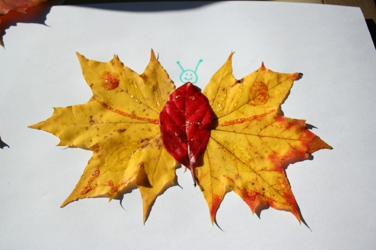 manualidades otoño niños pequeños