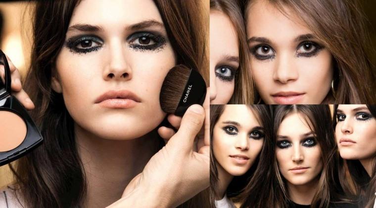maquillarse los ojos otoño
