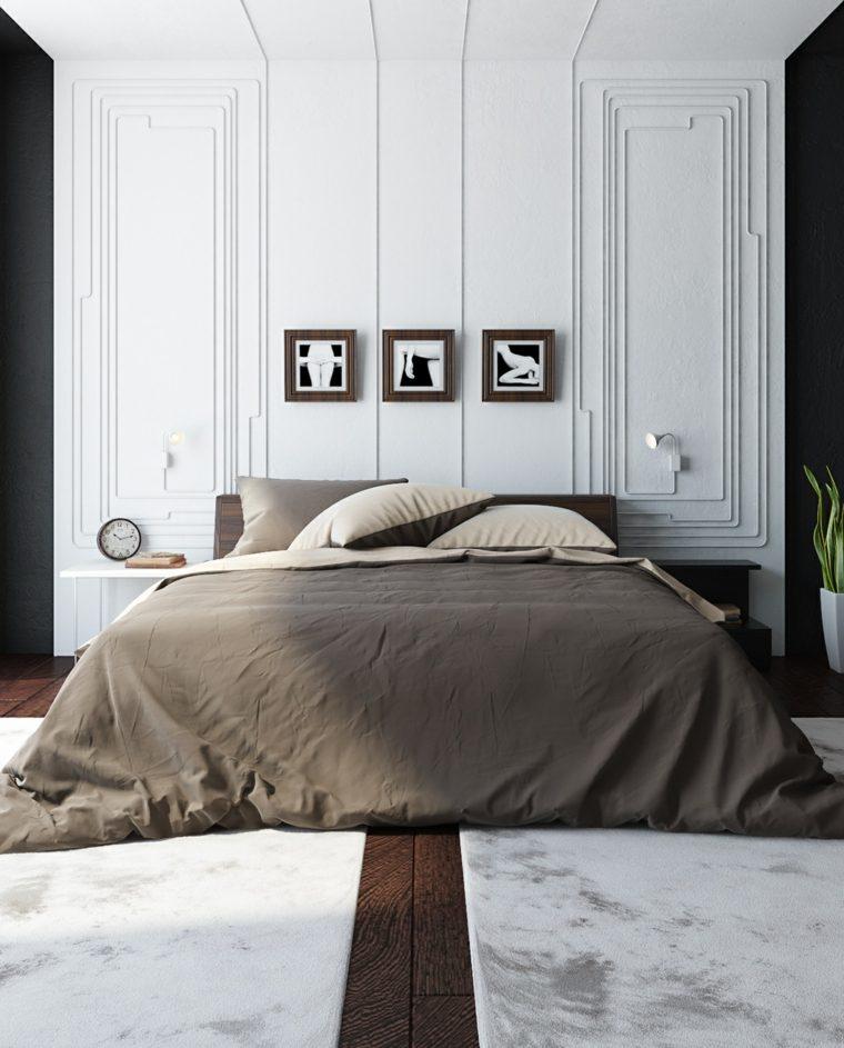 marrron blanco cuadros paredes fuentes