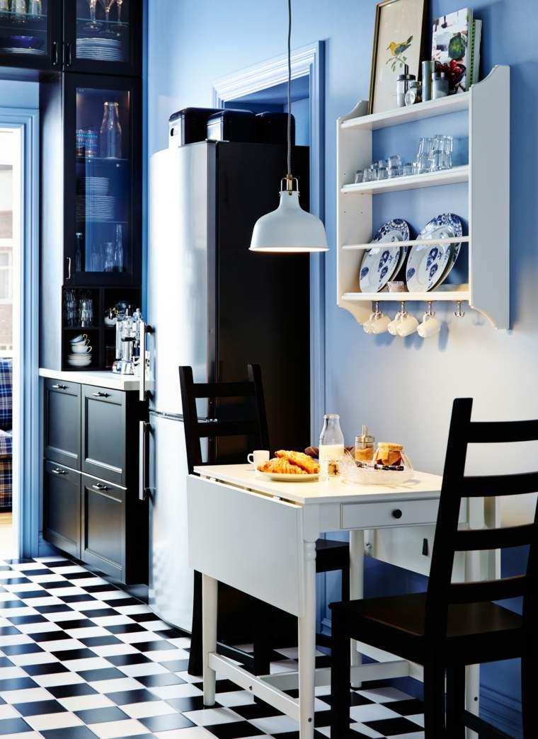 Muebles auxiliares de cocina 24 dise os interesantes - Mesa cocina diseno ...