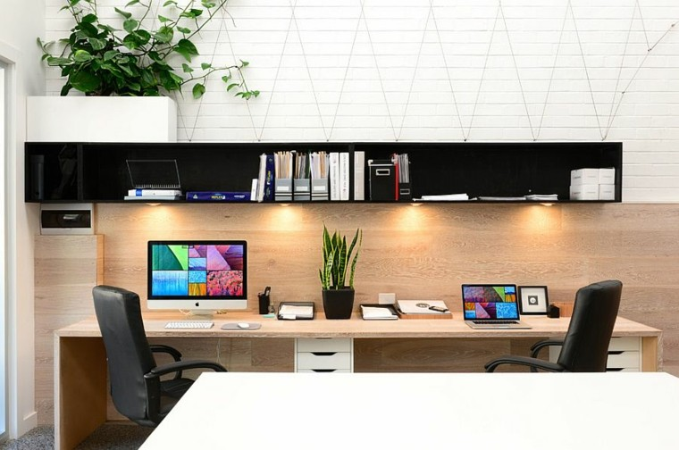 mesas para oficina de diseño moderno