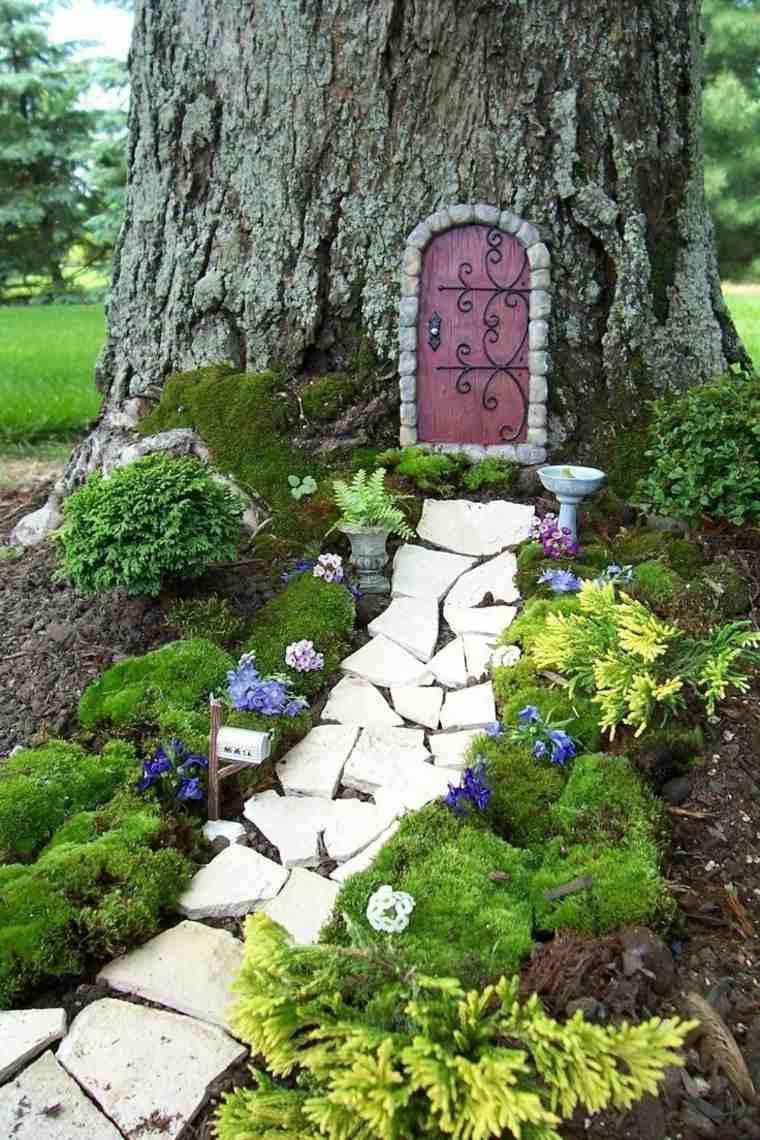 Miniaturas 24 ideas de jardines en miniatura m gicos for Como decorar un jardin grande