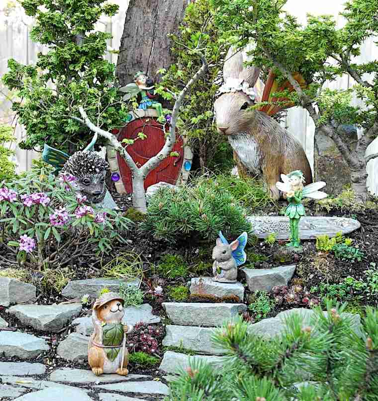 Miniaturas 24 ideas de jardines en miniatura m gicos - Como disenar una terraza jardin ...