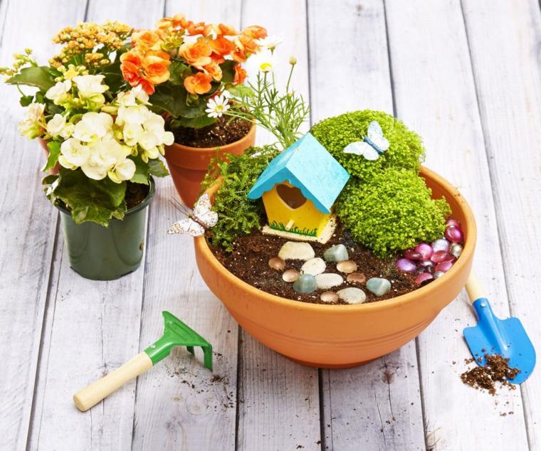 miniaturas jardin miniatura disenos magicos ideas