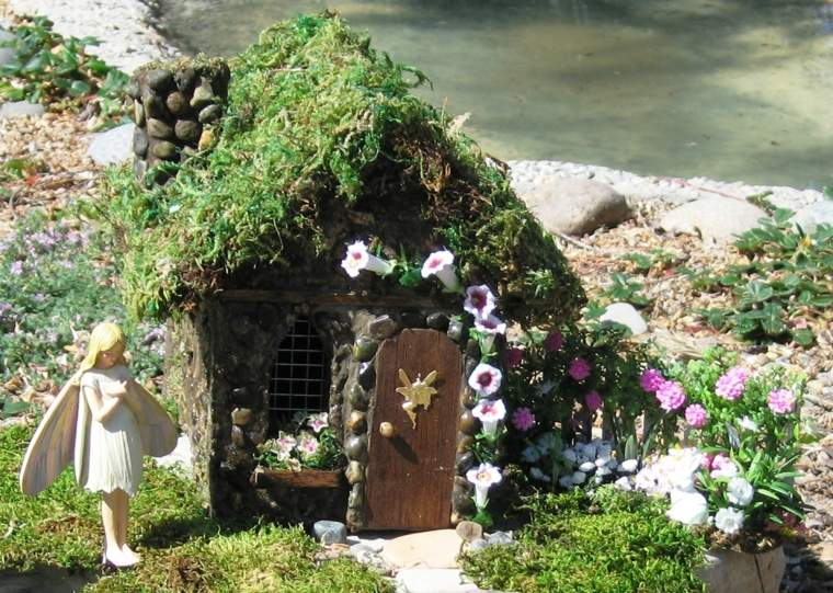 miniaturas jardin miniatura hadas casita ideas