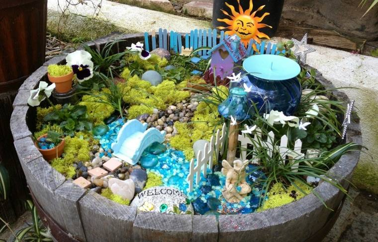 miniaturas jardin miniatura moho ideas opciones