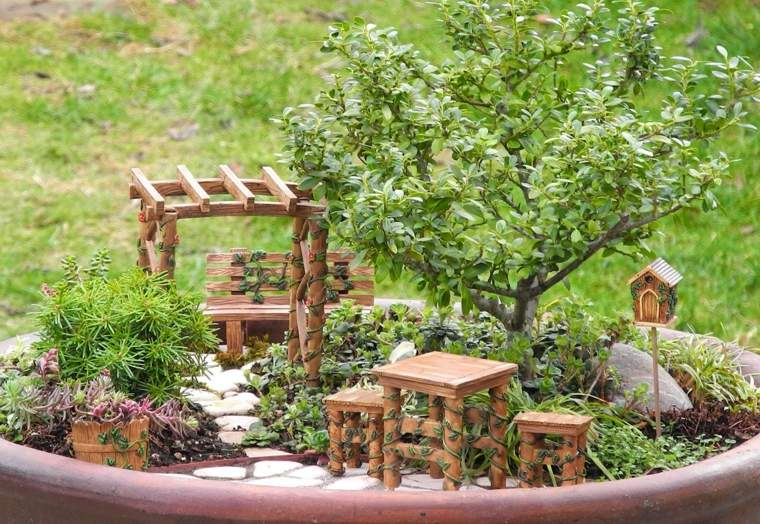 Miniaturas   24 ideas de jardines en miniatura mágicos