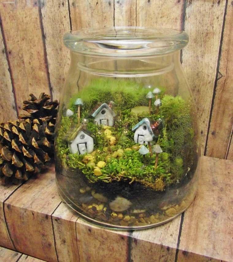 miniaturas jardin miniatura unico ideas