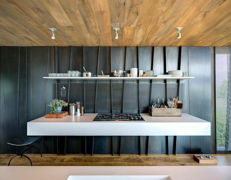 minimalista detalles metalicos cocina imagenes