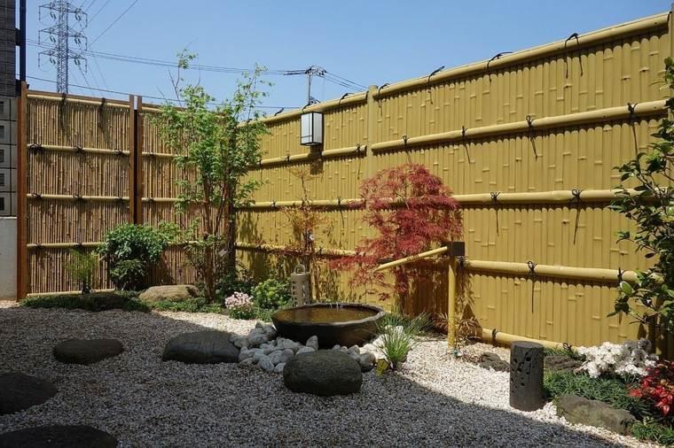 minimalista rocas asictico jardines maneras