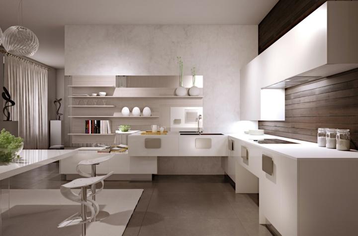 minimalistas cocinas especiales salas luces