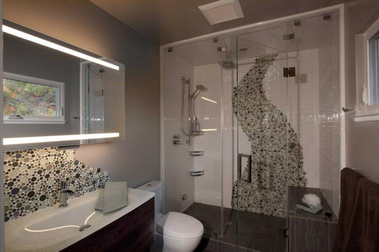 mosaicos para baños decorar