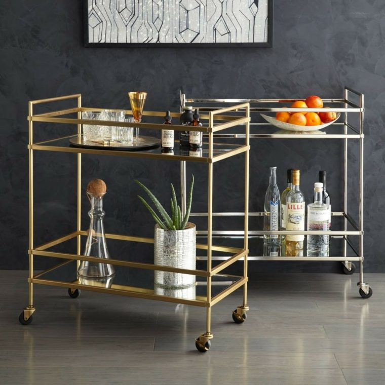 Muebles auxiliares de cocina 24 dise os interesantes for Muebles de cocina basicos