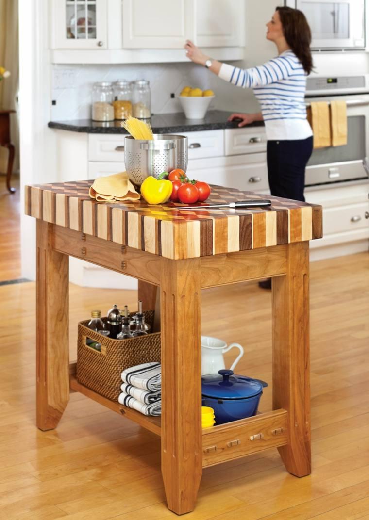 muebles auxiliares de cocina -24 diseños interesantes