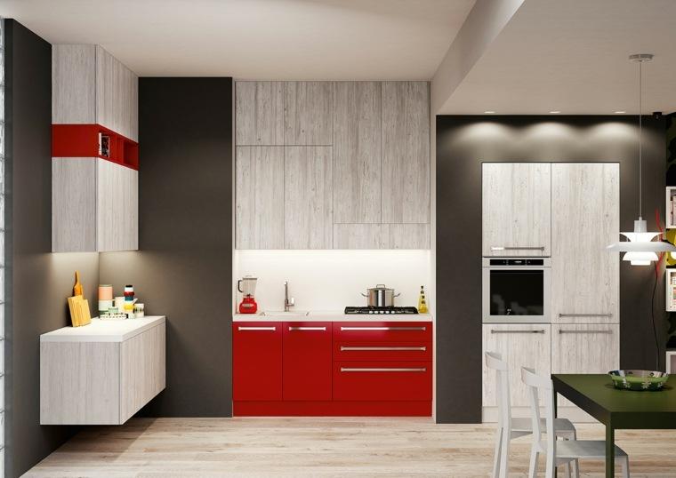 Mueble auxiliar para cocina cocina vintage las claves para hacer la cocina ms comoda y - Auxiliar cocina ...