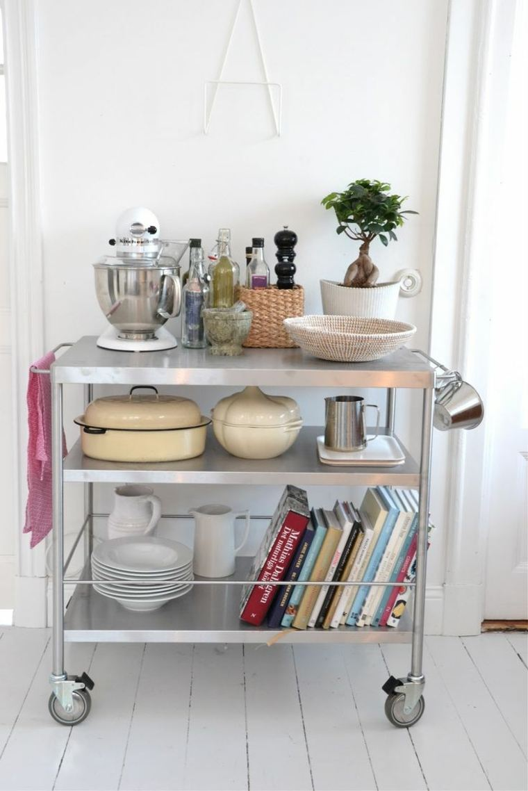 Mueble auxiliar para cocina buffet botellero con cajn for Muebles auxiliares para cocina