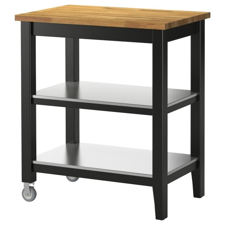 muebles auxiliares cocina madera muebles auxiliares de cocina madera negra ideas