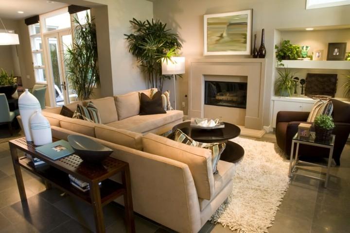 muebles obra colores integraciones salones sillones