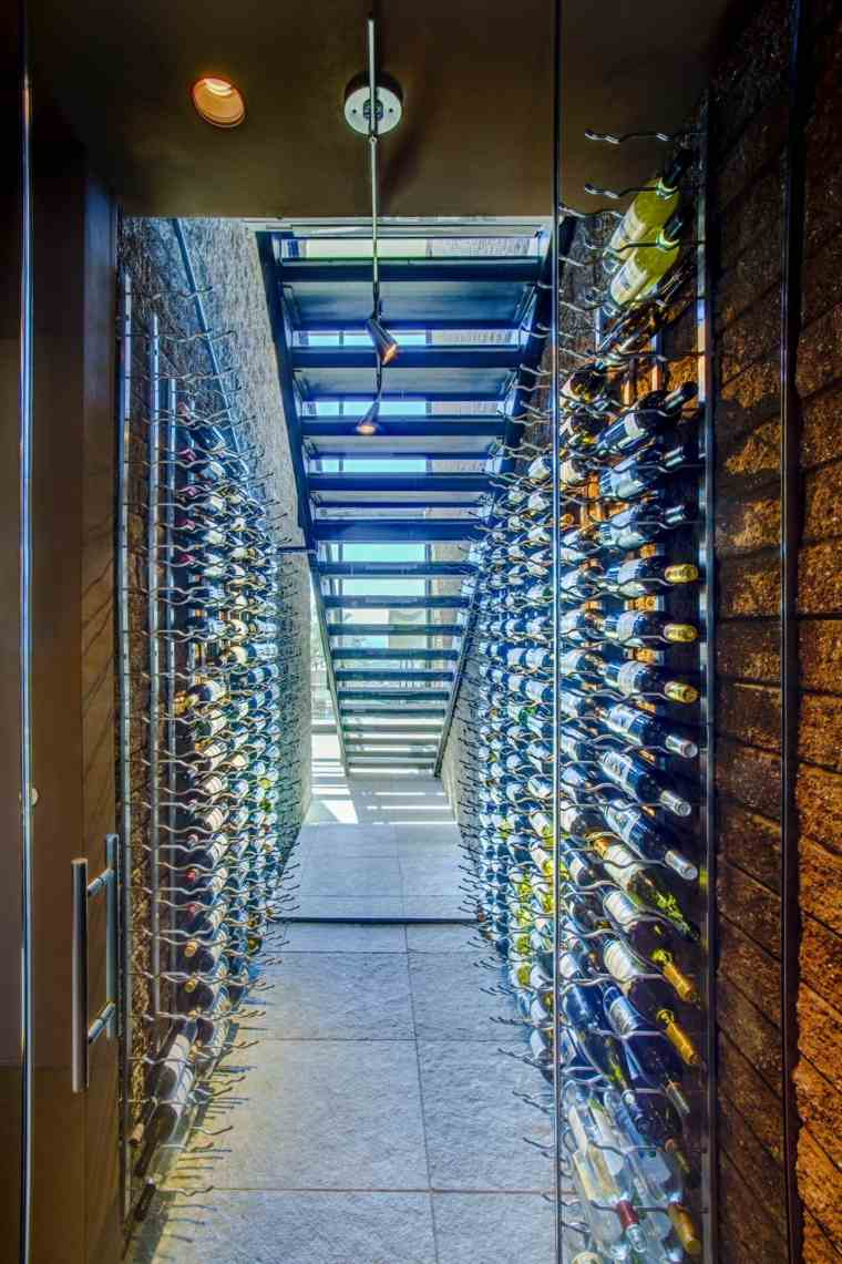 muebles para vino cristal