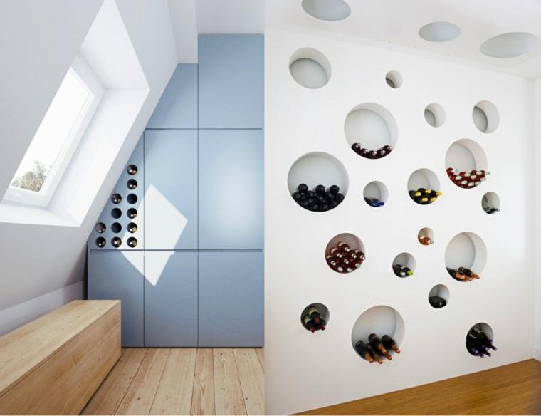muebles para vino decorar