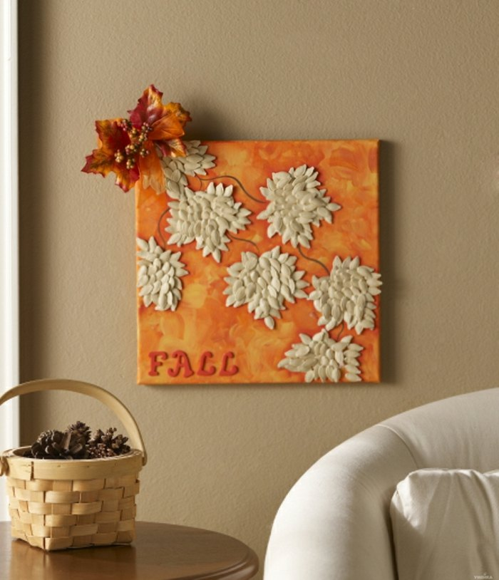 naturaleza inspirados decoraciones naranja canastas