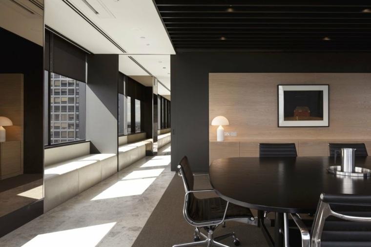 oficinas con diseño moderno