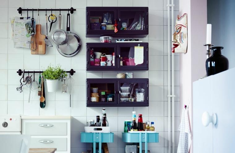 opciones originales espacio ahorro cocina ideas