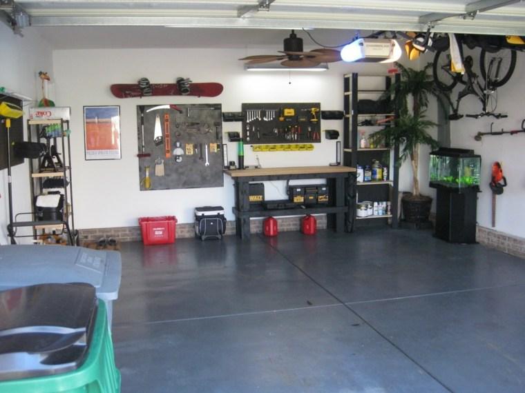 organizacion garaje consejos espacio aprovechar paredes ideas