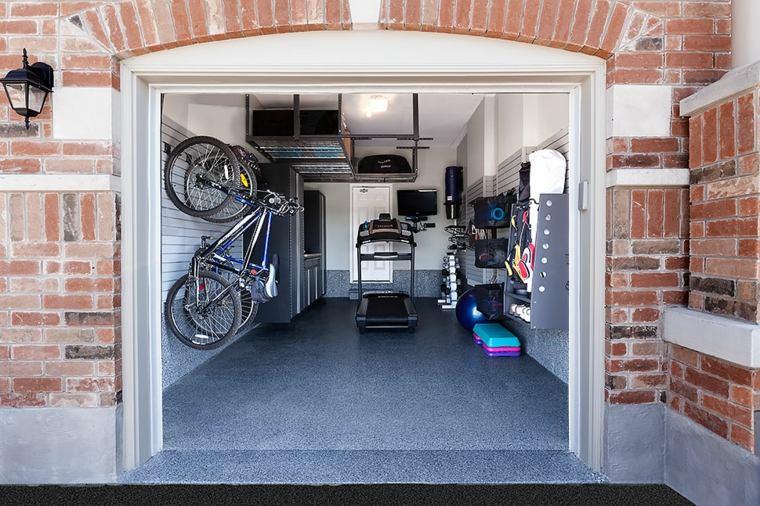 organizacion garaje consejos espacio bastidores ganchos estantes ideas