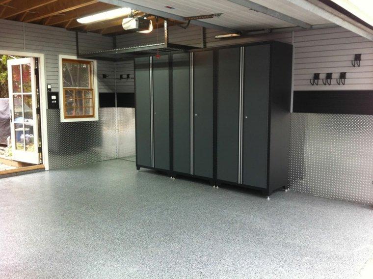 organizacion garaje consejos espacio armarios ideas