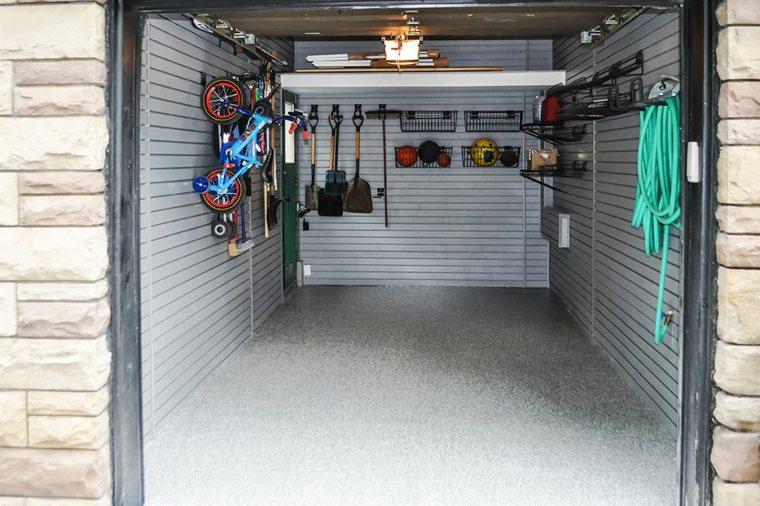 organizacion garaje consejos espacio estrecho ideas